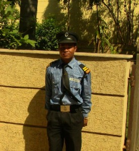 Panchu- Security Guard