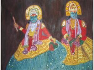 Kathakalli Dancers