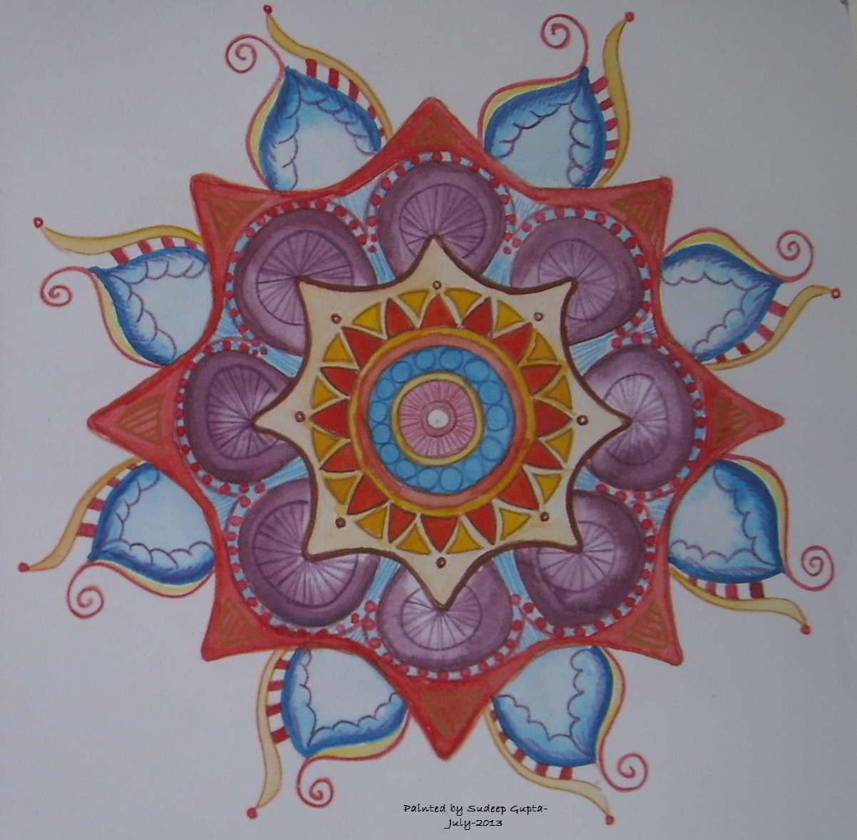 2nd Mandala Drawing