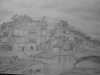 A landscape in Pencil Skech