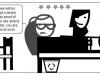 comic strip in hospital