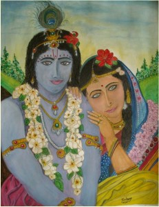 Radhaji and Krishnaji