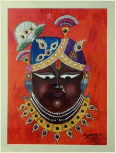 Srinathji- Painting in Watercolor
