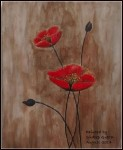 Flowers in Watercolor Painting